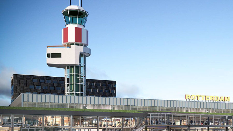 Rotterdam Airport shutdown: Smoke reported in air traffic control tower