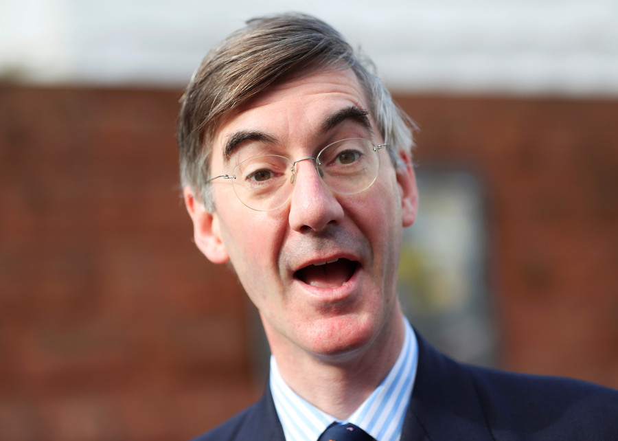 'I'll buy your family': drunk Tory students 'grope' women at party of Rees-Mogg linked group