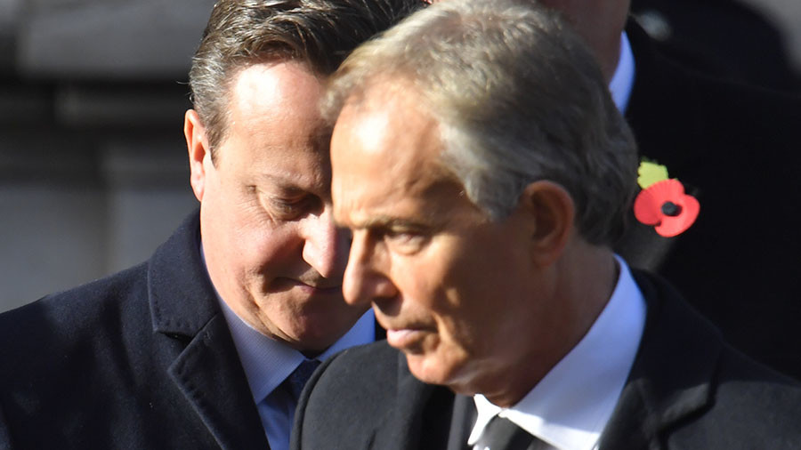 Tony Blair warned of 'deep state' conspiracy in UK civil service – ex-Cameron aide
