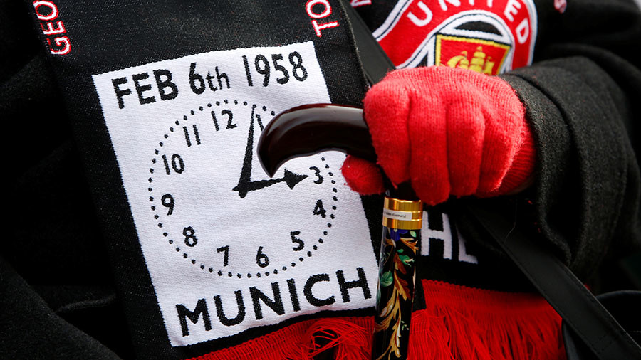 Tributes paid in Manchester & Munich for 60th anniversary of Man United disaster