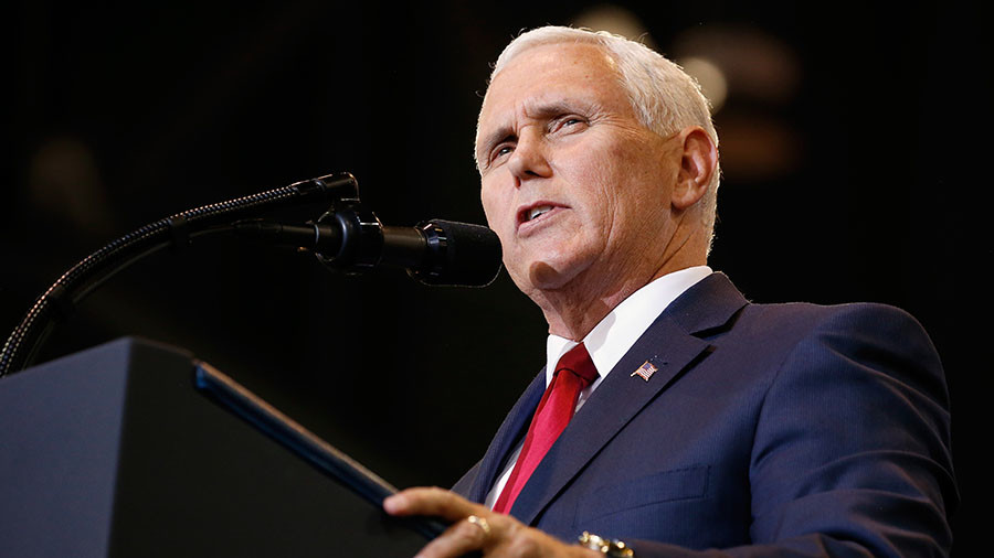 Pence threatens N. Korea with 'toughest & most aggressive' US sanctions ahead of PyeongChang