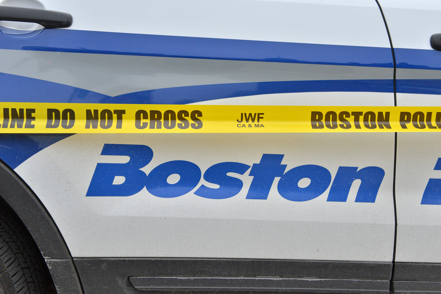 Bikers v cops: Chaotic chase through Boston ends in roadblock shooting