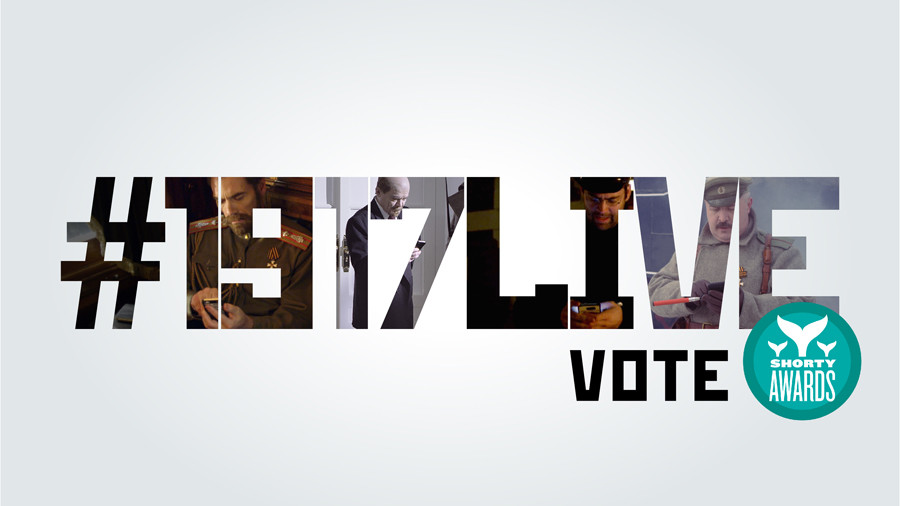 We need your vote! Support #1917LIVE in Shorty Awards 2018