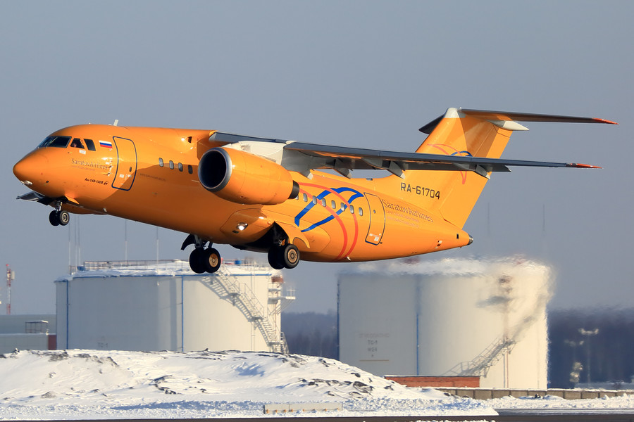 Russian plane crash near Moscow