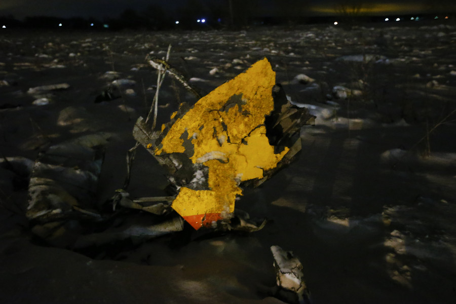 Russian state bank to write off debts of plane crash victims