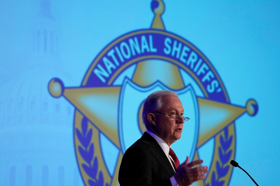 Sessions blasted for praising sheriffs as 'Anglo-American heritage'