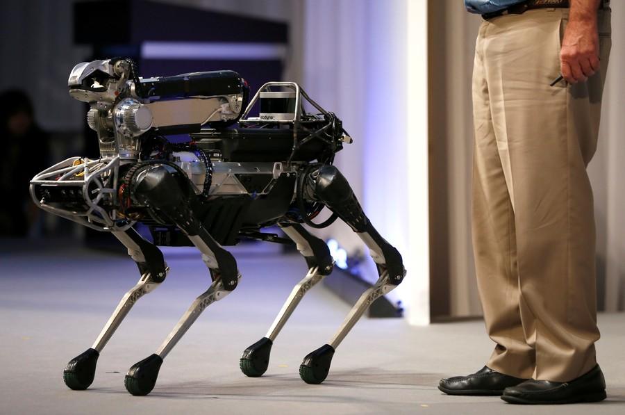 Humanity is doomed now that robots can open doors (VIDEO)