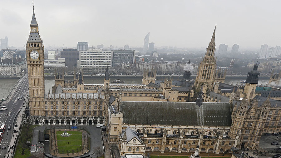 UK police investigating suspicious package at Parliament