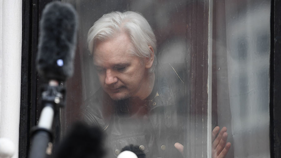 'Better a worm than a snake': Assange bites back at Tory minister (VIDEO)