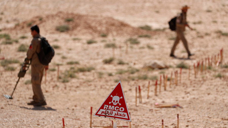 'Children pick up things that explode in their hands' – HRW calls for Raqqa de-mining efforts