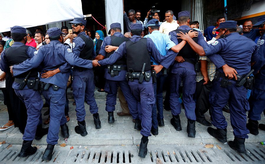 Maldives slams calls for Indian military intervention