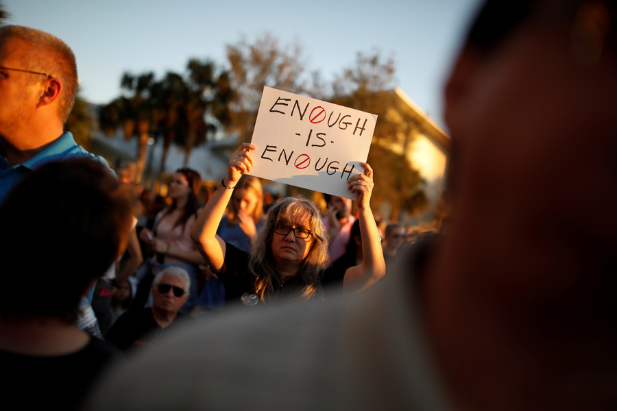 Florida governor calls for FBI director's resignation over missed Parkland tip-off
