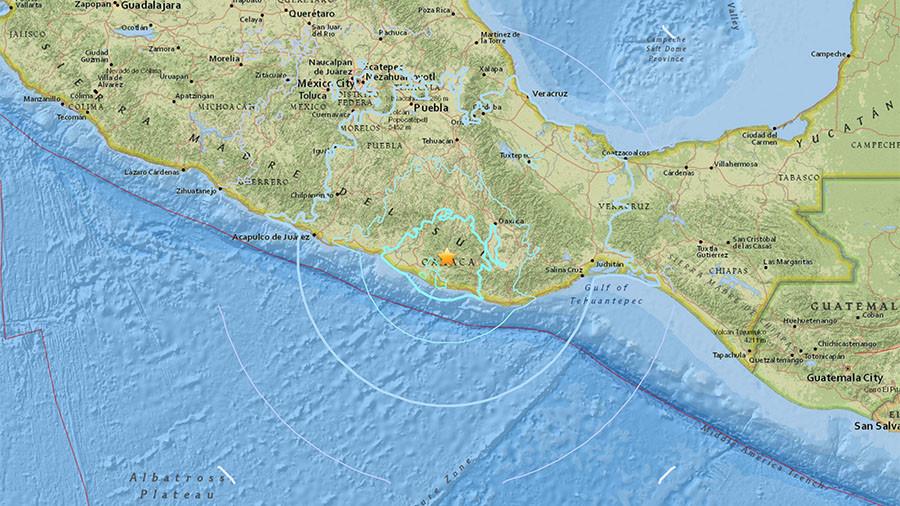 5.9 magnitude quake shakes Oaxaca, Mexico — USGS