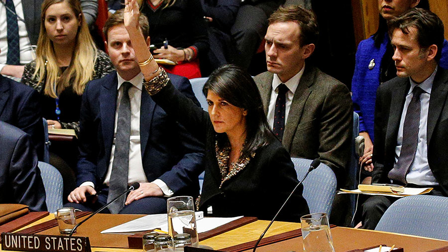 'US only gets away with meddling because of its UN veto'