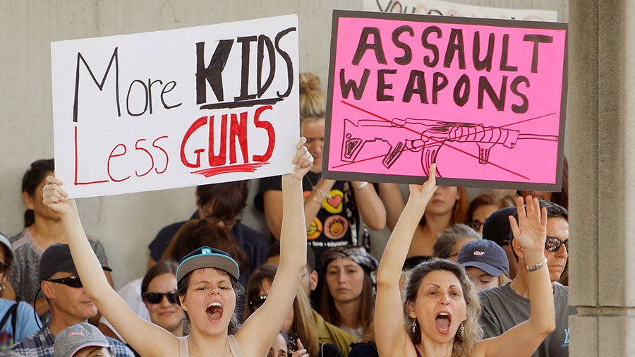 America's absurd new battle: Schoolchildren versus the Gun Lobby