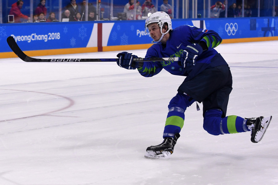 Slovenian ice hockey player expelled from PyeongChang after positive doping test