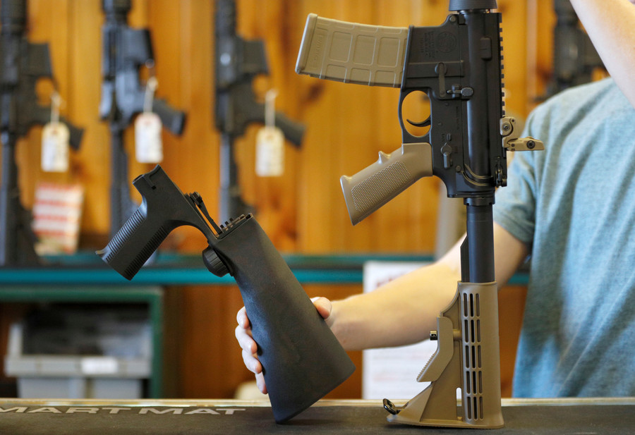 Trump directs DOJ to ban 'bump stock' gun accessories