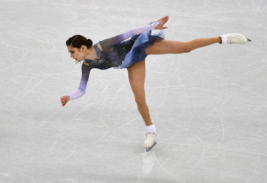 'Happy to watch her do my program': Olympic champ Zagitova challenges US skater after criticism