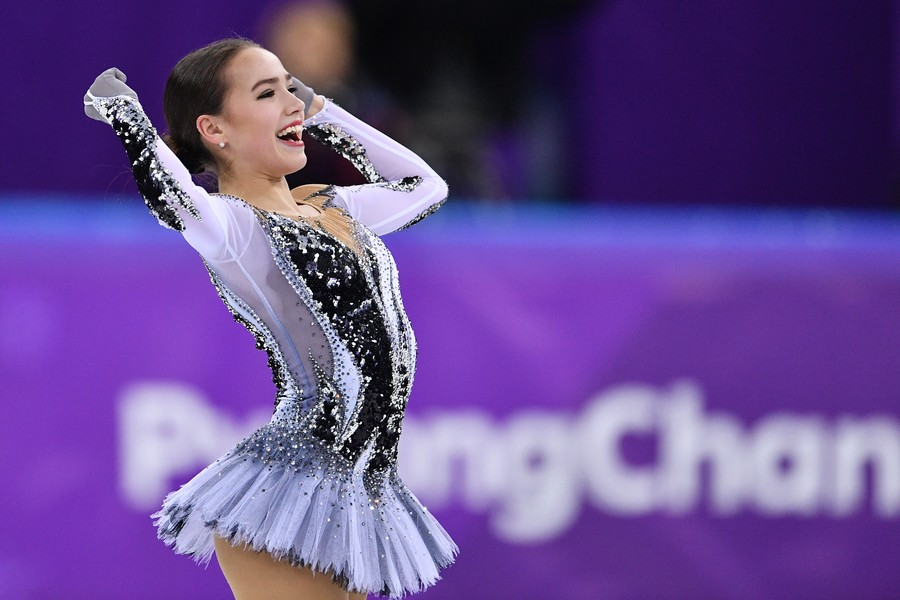 Russian record-breaker Zagitova's ice performance is thawing antidote to frosty media reaction