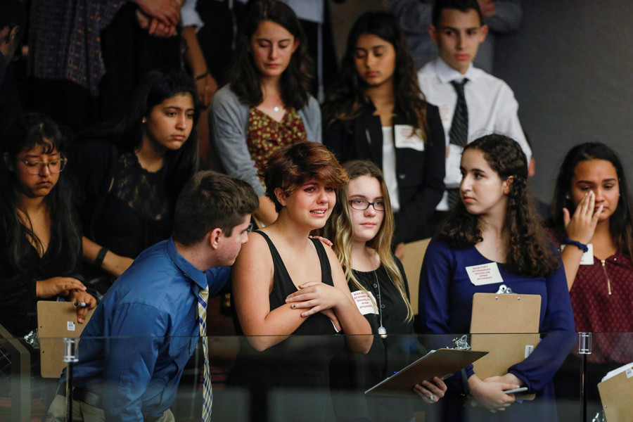 CNN told school shooting survivor to ask scripted questions at town-hall meeting – student