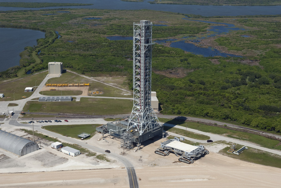 Waste of space? NASA's $1bn mobile launch tower may work only once