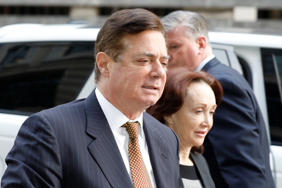 'Flight risk' Manafort facing 'very real possibility' of life in prison – court order