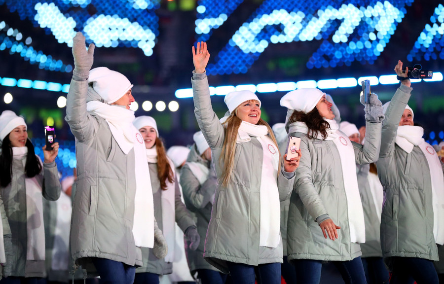 IOC upholds Russia suspension & ban of national flag at PyeongChang Olympics closing ceremony