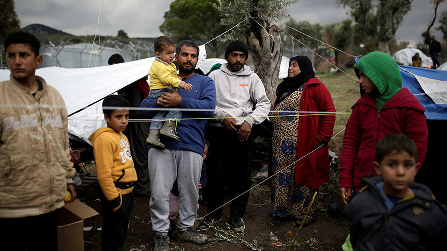 'Refugee bottleneck in Greece result of EU & NATO failure to deal with Syria problems'