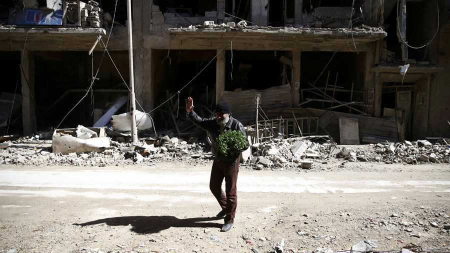 E. Ghouta terrorists use civilians as 'human shields,' plan to sabotage UN aid – Russian MoD