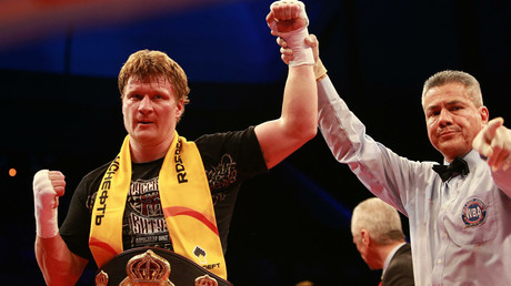 Alexander Povetkin © Dmitry Golubovich / Global Look Press