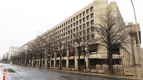 FILE PHOTO View of the FBI headquarters in Washington © Maren Hennemuth / Global Look Press