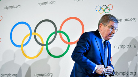 President of the International Olympic Committee (IOC) Thomas Bach © Fabrice Coffrini