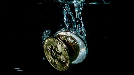 Bitcoin sinking like a stone with cryptocurrency market in freefall