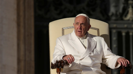 'A crime against humanity': Pope apologizes on behalf of Catholics who use prostitutes