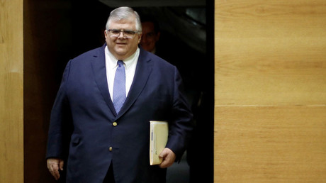 The head of the Bank for International Settlements (BIS) Agustin Carstens. © Edgard Garrido