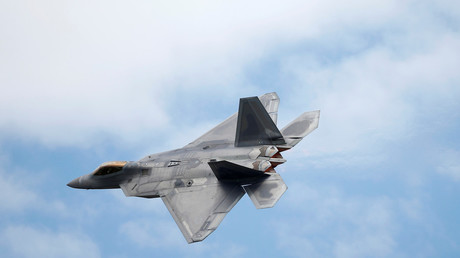FILE PHOTO: A Lockheed Martin F-22 Raptor fighter.  © Peter Nicholls