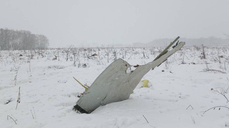 Russian plane crash: 100s of rescuers continue recovery op overnight (DRONE VIDEO)