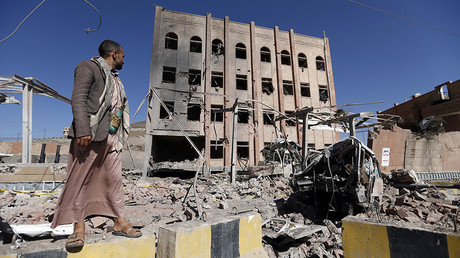 U.S. & British bombs killing civilians in Yemen, Erase and Forget history & UK prisons (E574)