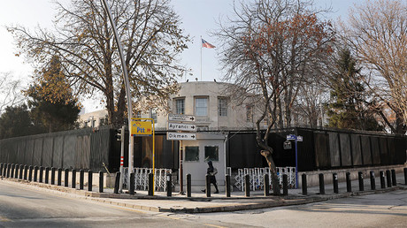 General view of the U.S. Embassy in Ankara, Turkey. © Umit Bektas