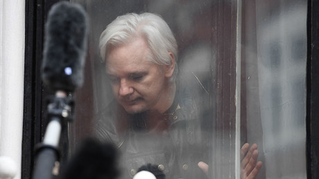 'Obsessive and obscenity-laden': Assange hits back at Intercept claims he backed Trump