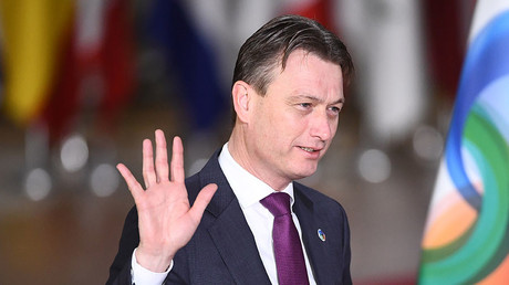 Dutch Minister of Foreign Affairs Halbe Zijlstra. © Emmanuel Dunnand