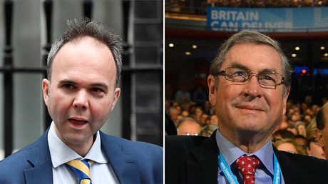 Gavin Barwell and Lord Ashcroft © Reuters