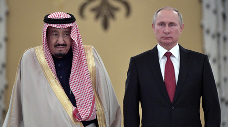 Putin & Saudi King Salman discuss Syria, Qatar by phone