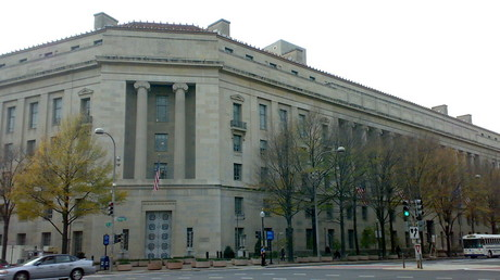 The US Department of Justice, Washington DC. © Bjoertvedt