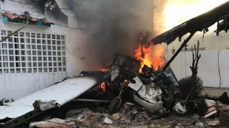 Small plane crashes into house in Venezuela, killing 1 (PHOTOS)