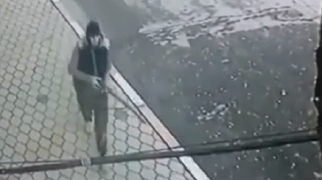 CCTV captures the moment shooter opens fire on Russian churchgoers (DISTURBING VIDEO)