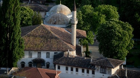 Russia accused of 'erasing Muslim heritage' for restoring collapsing Crimean mosque