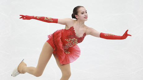 Russian figure skating star Zagitova breaks Medvedeva's newly-set world record in short program