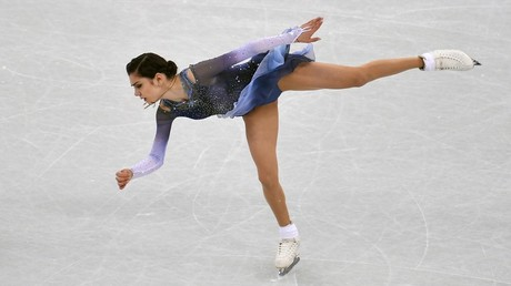 Russian figure skater Medvedeva sets world record in short program