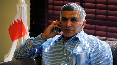 'Nabeel Rajab's sentence is a slap in the face of the rule of law & human rights'